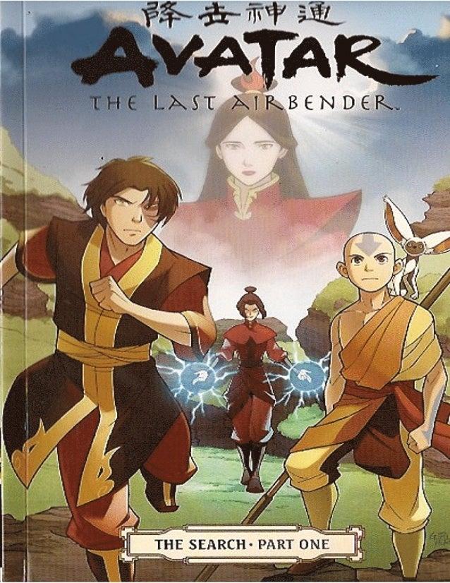 Avatar_The search (la busqueda_en ingles) part1