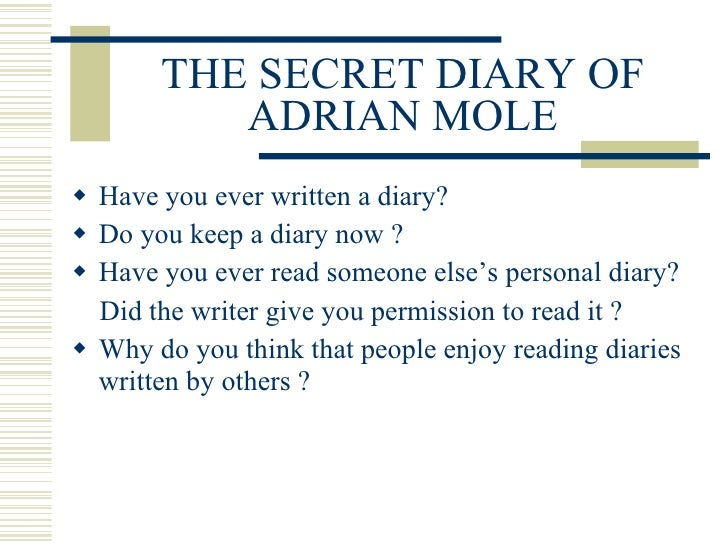 the secret diary of adrian mole pdf download