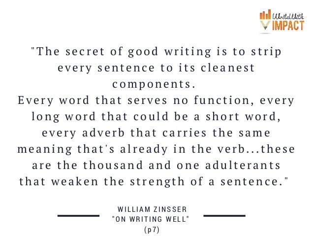 secrets of writing a good essay