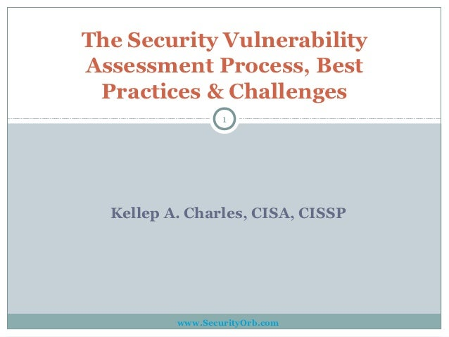 The Security Vulnerability Assessment Process & Best Practices