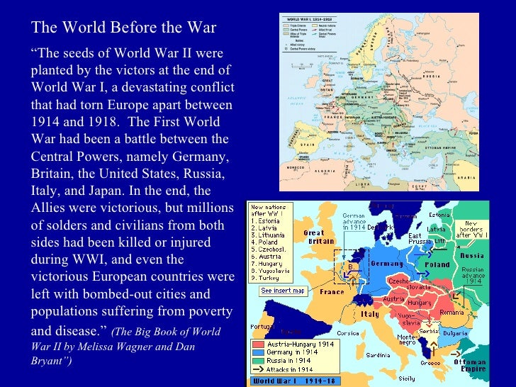 The seeds of war power point