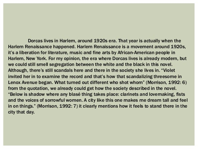 a short paragraph on morrisons essay rootedness essay Morrison in her essay 'rootedness' emphasises the importance of the ancestral myth, she writes bluntly, 'when you kill the ancestor you kill yourself.