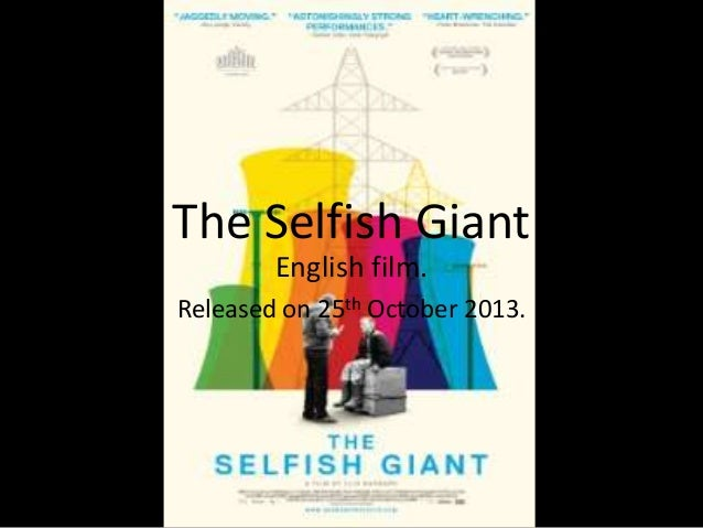 The Selfish Giant English film. Released on 25th October 2013.