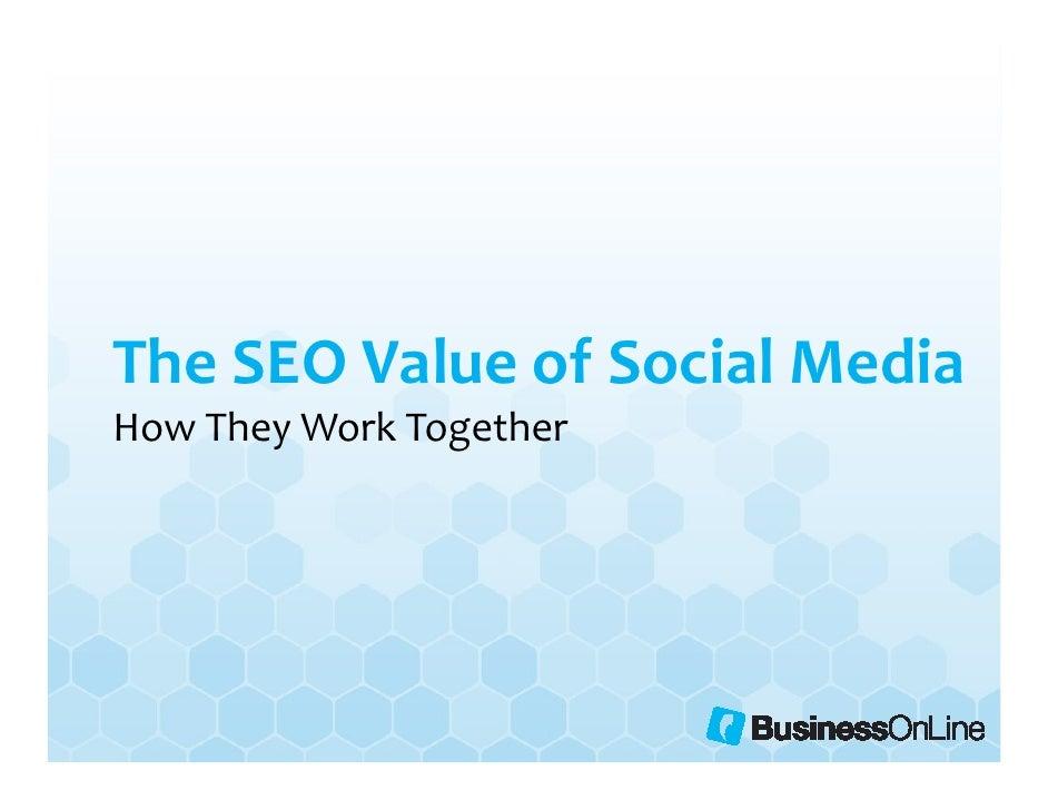 The SEO Value of Social Media