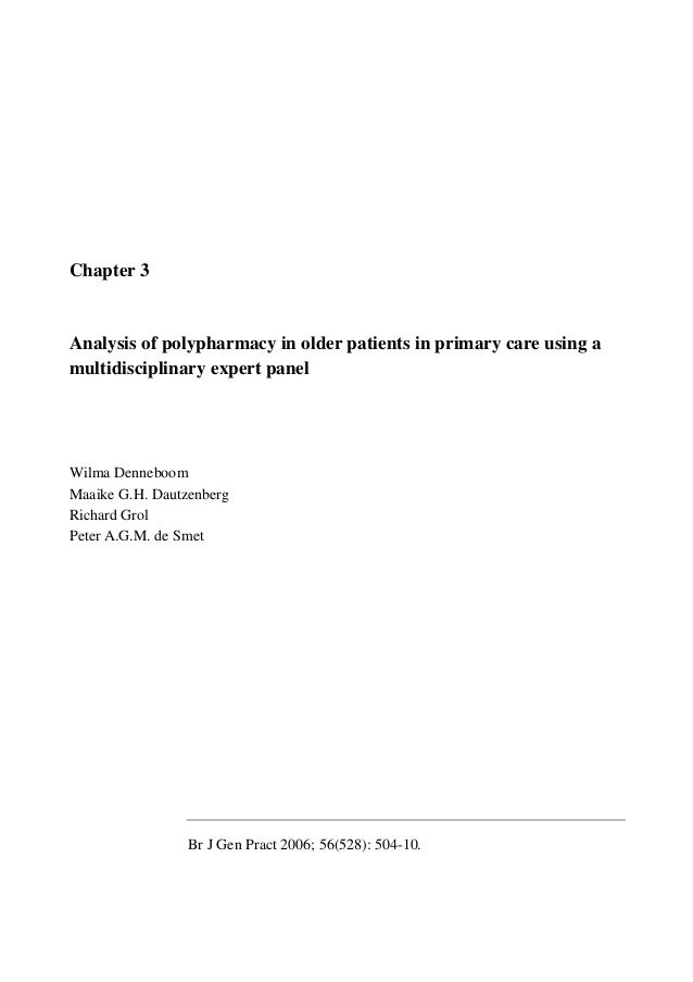 Phd thesis in patient safety