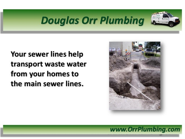 Sewer Waste Line Lines Help Transport Waste