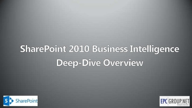 EPC Group - The SharePoint Evolution and Your Organization's BI Roadmap