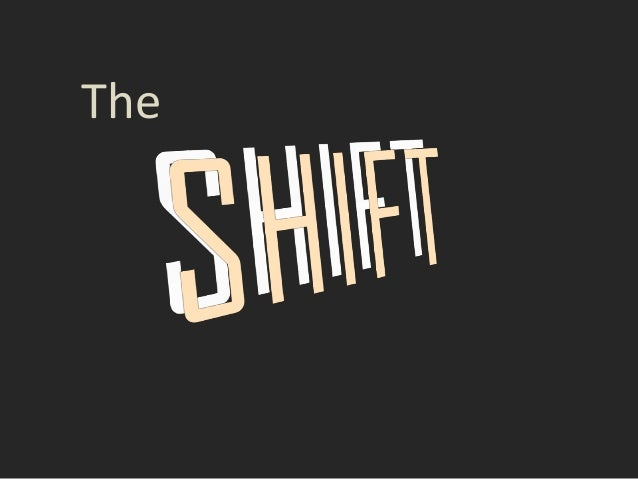 2013 CNYASTD BEST Awards - The Shift
