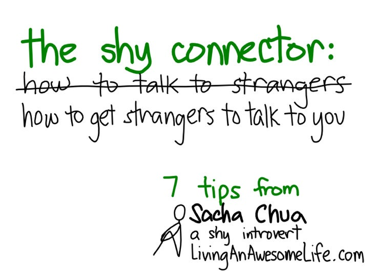 The Shy Connector