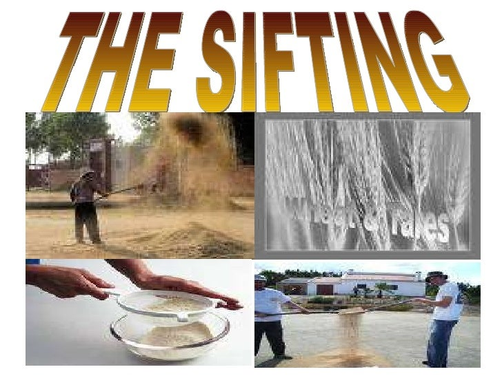 THE SIFTING