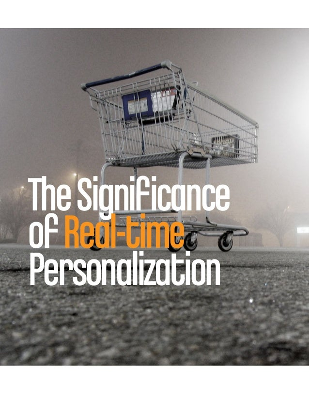 TheSignificanceofReal-timePersonalization