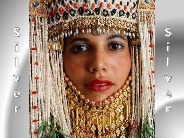 Silver jewelry of Yemeni bride can be a few pounds.  It is believed that the more silver jewelry a bride  has, the more su...