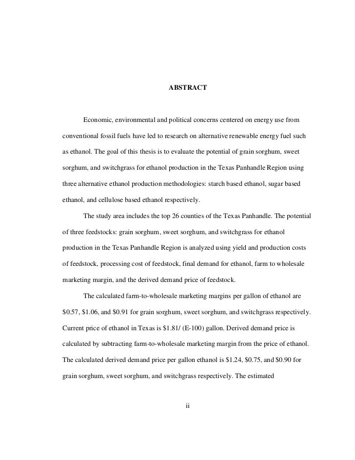 Chemical Engineering Scholarship Essay Sample