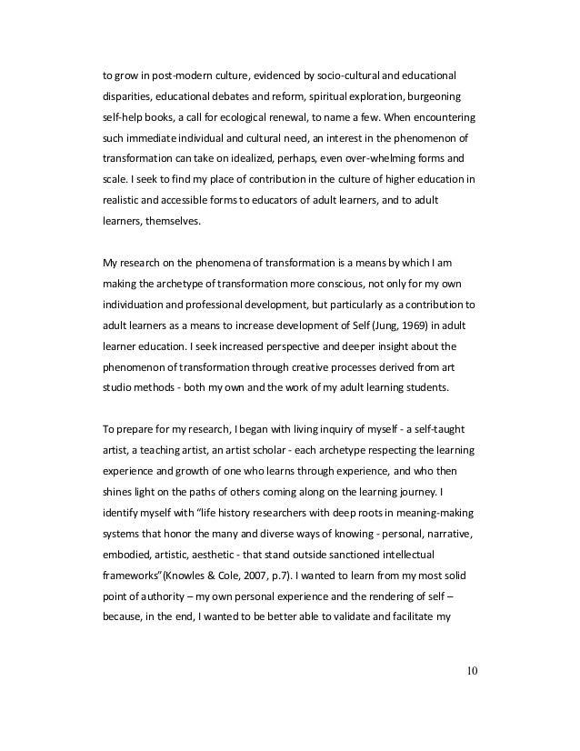 arts based dissertations