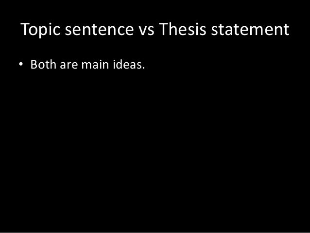 where should a thesis statement be placed in an essay