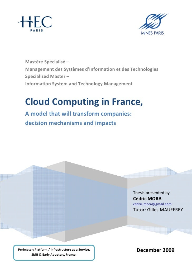 cloud computing thesis ideas