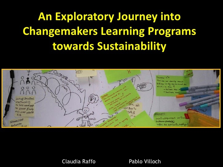 Changemaker learning programs towards Sustainability