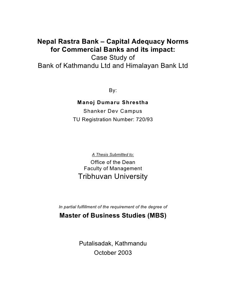 mbs thesis nepal