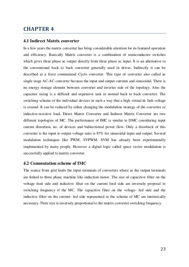 dfig thesis Control design and analysis of doubly-fed induction generator in wind power application by shukul mazari a thesis submitted in partial fulfillment of the.