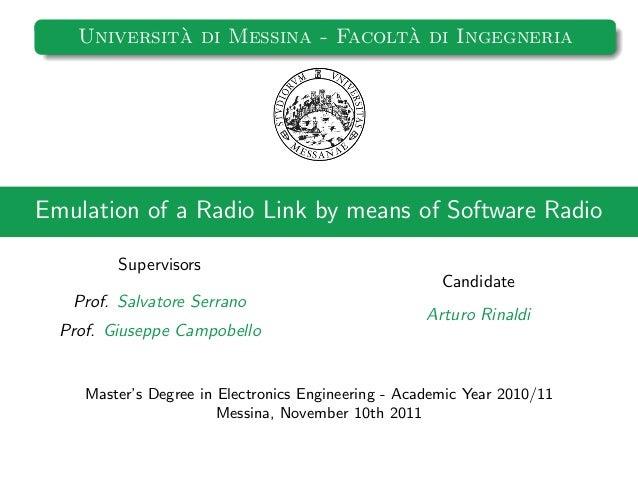 Thesis A. Rinaldi (PDF Slides)