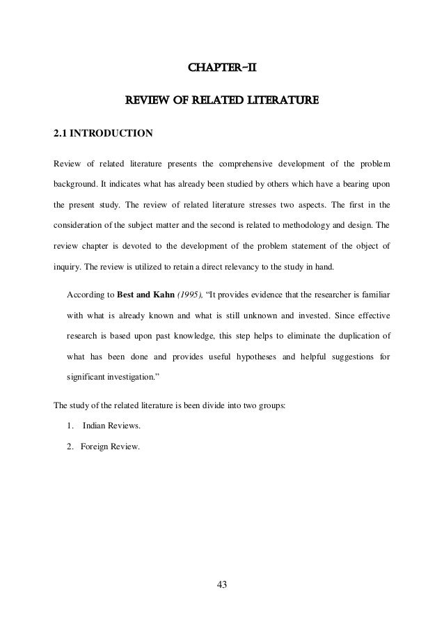 review related study 3 local literature example Get custom essay sample written according to your requirements urgent 3h delivery guaranteed  we will write a custom essay sample on the review of related literature and studies specifically for you for only $1638 $139/page  2 2 review of related studies 221 local studies according to sumabong, 2009, interactive learning, is a.