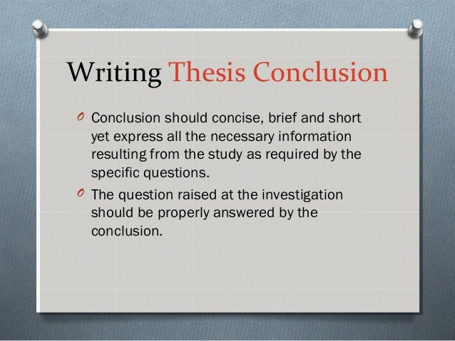 Academic Requirements - Thesis Generator