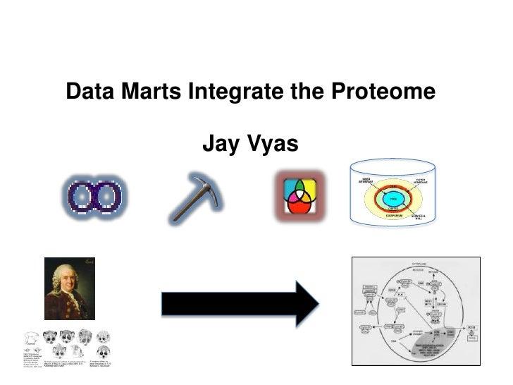 Data Marts Integrate the ProteomeJay Vyas<br />