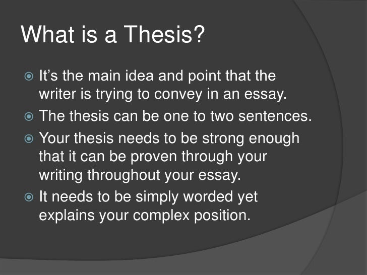 Master thesis social sciences