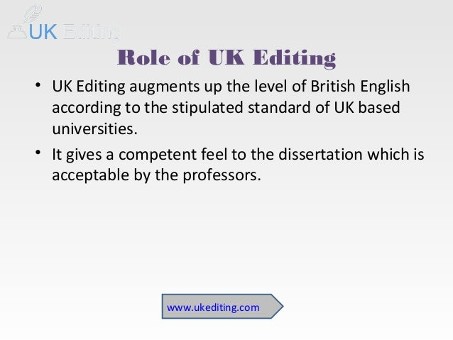 Dissertation editing services - Stonewall Services