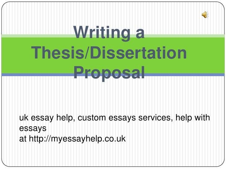 http://dissertationwriting.myessayhelp.co.uk Dissertation - Thesis essayhelp