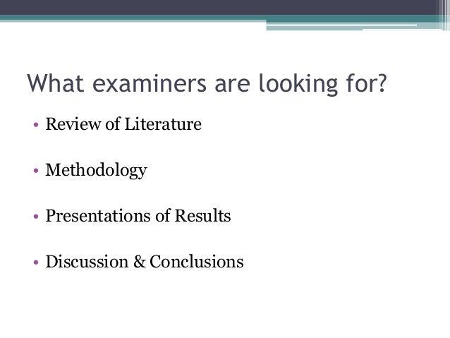 Dissertation evaluation criteria