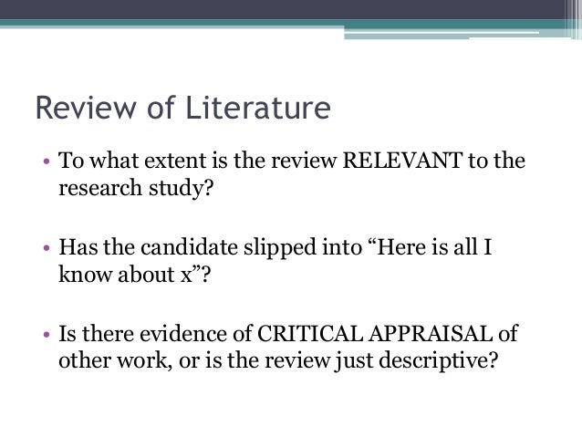 Phd thesis evaluation criteria