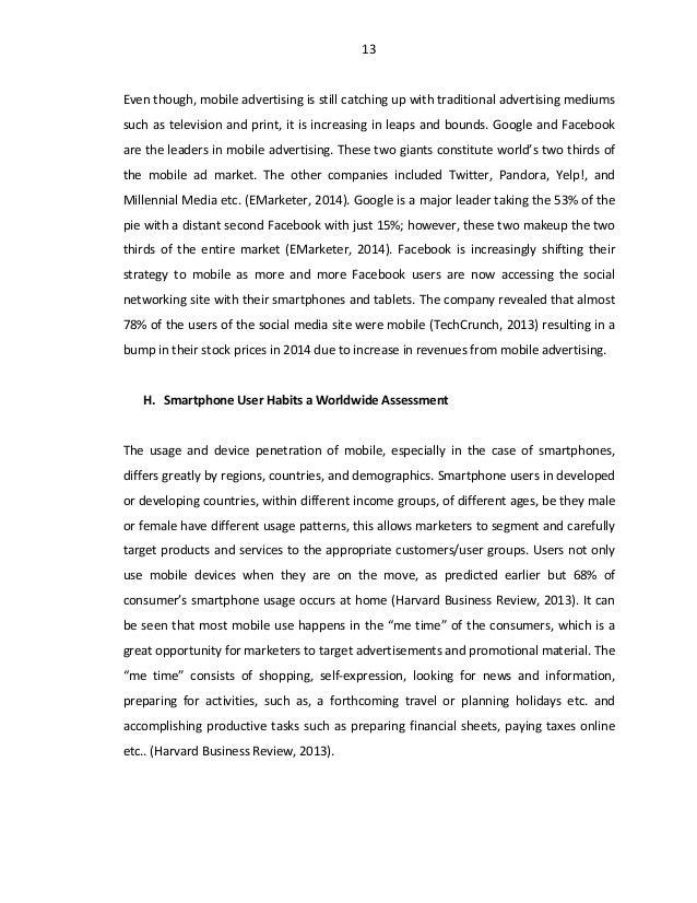 dissertation in tourism