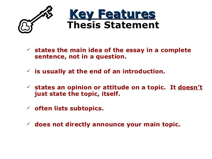 literary element thesis 2017-9-8  is the author of the literature making connections between the literary work and real-life tone  what is the thesis or main point of the literature 2.