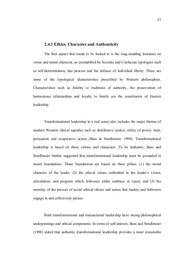 Dissertation On Secondary School Principal Leadership
