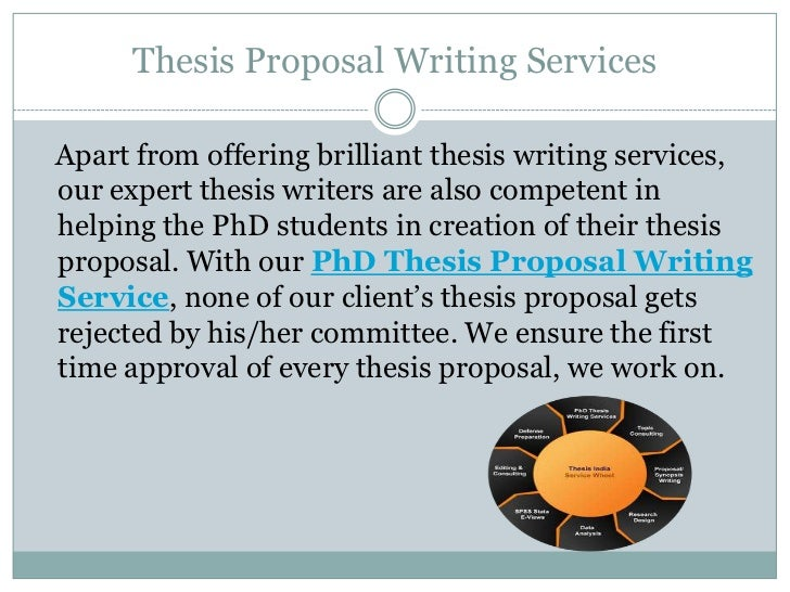 best thesis proposal editing services for phd