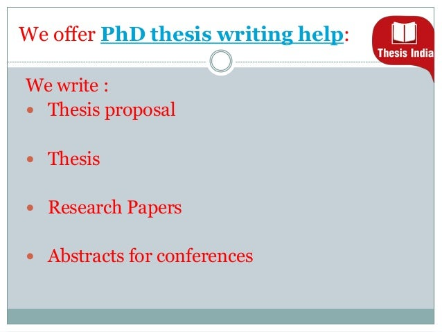 Phd Thesis Abstract