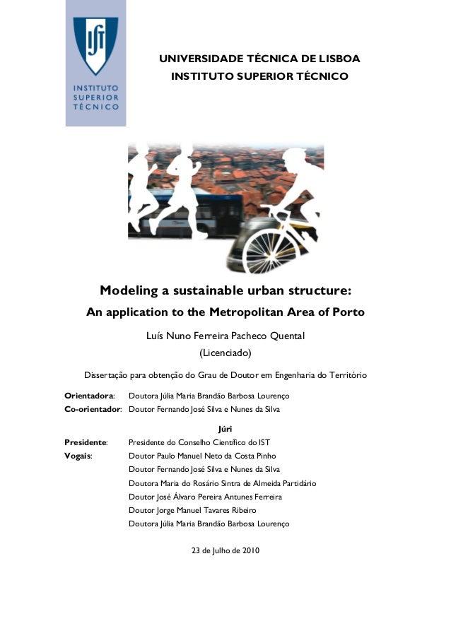 metropolitan thesis