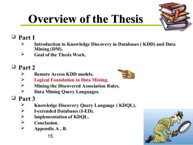 Phd dissertation data mining