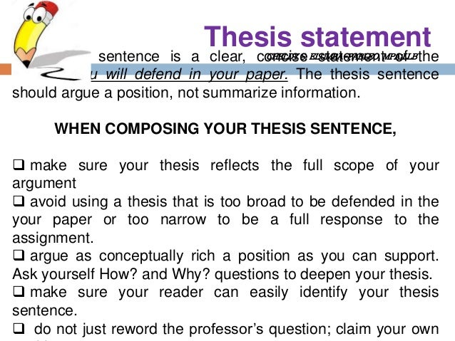 Thesis Statement Maker - Help with Thesis Statement