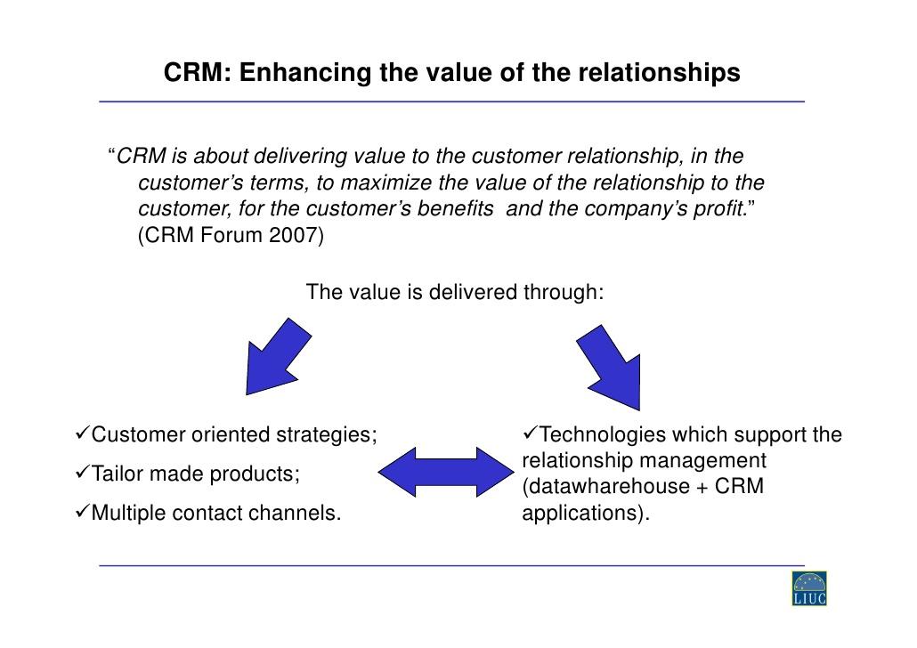Exploring the nature of Effective Customer Relationship - Rikon