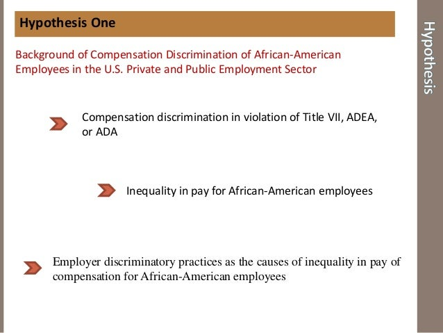 equal pay and compensation discrimination essays