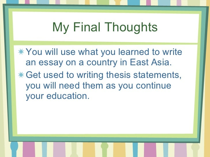 identifying thesis statement activities Good thesis statement is the key to successful persuasive writing use tackling  the  ask students to identify the assertion and the supporting reasons, then.