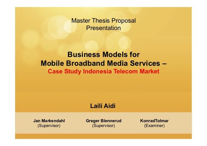 master's thesis proposal presentation 3825