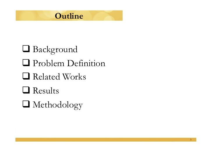 master thesis presentation slideshow