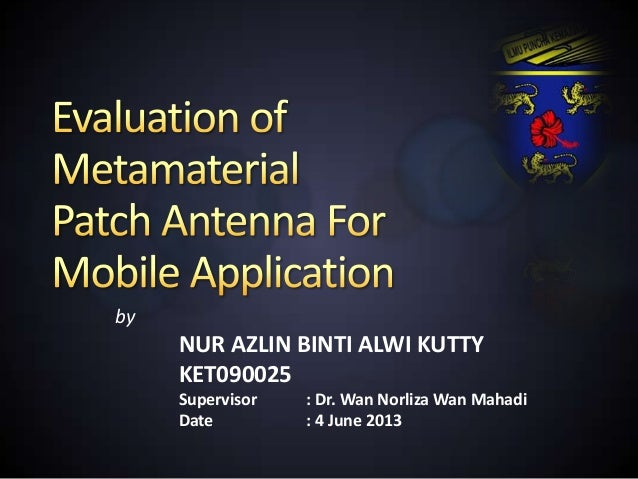 patch antenna thesis