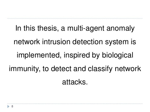 Multi agent system thesis