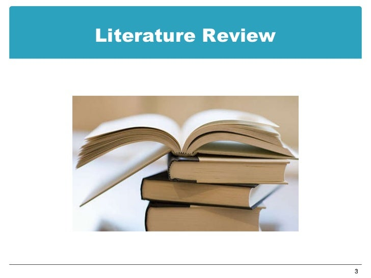 Literature Review Template Science