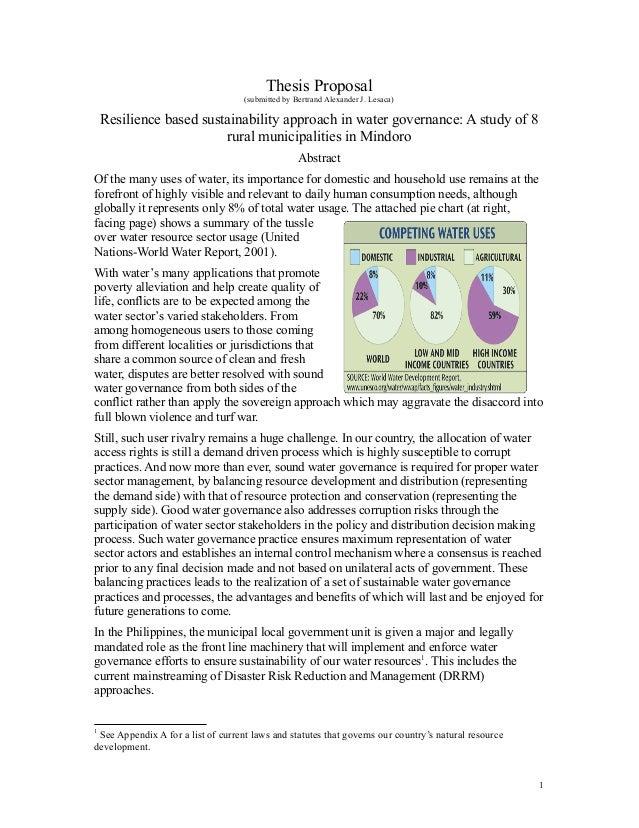 Public administration dissertation proposal