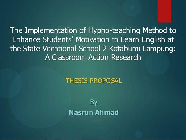 Thesis proposal 2013 ok